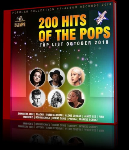 V.A. - 200 Hits Of The Pops / 2018
