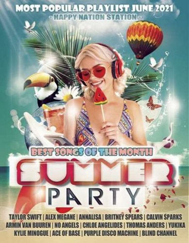 V.A. - Happy Nation: Summer Party / 2021